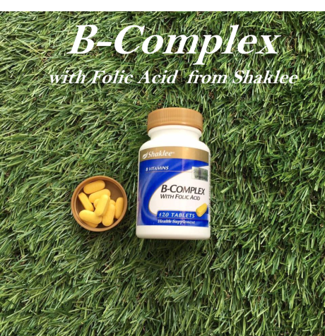 b-complex with folic acid